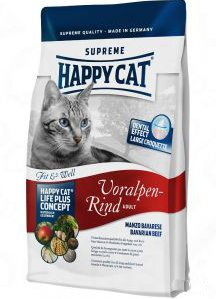 Happy Cat Adult Fit&Well Voralpen Rind 4kg