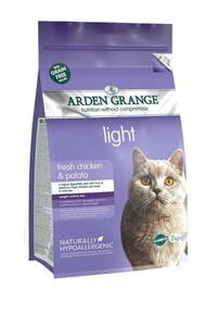 Arden Grange Cat light chicken & potato 2kg