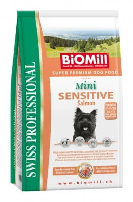 BiOMill Prof. Mini Sensitive Salmon&Rice 3kg