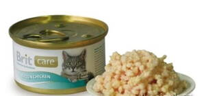 Brit Care Cat Kitten kuřecí - konzerva 80 g