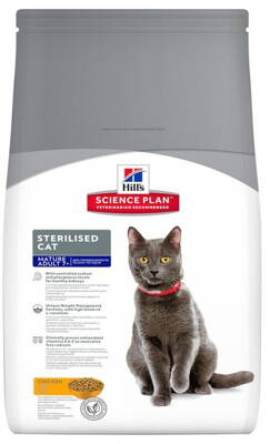 Hill's Feline Dry Adult Mature 7+ Sterilized 1,5kg
