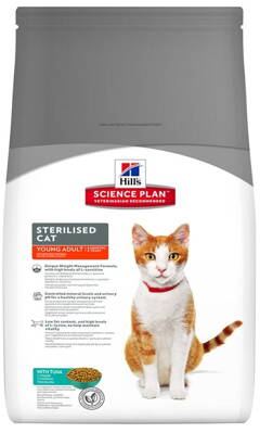 Hill's Feline Dry Adult Young Sterilised Tuna 3,5kg