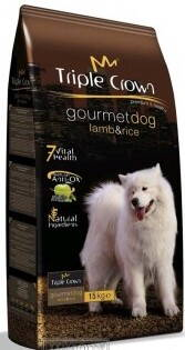 Triple crown gourmet dog LAMB 3 KG