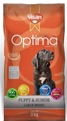 Visán OPTIMA Puppy&Junior LARGE BREED 3kg
