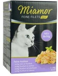 Miamor Cat Feine Filets Auslese kapsa Multi,4x2x50g